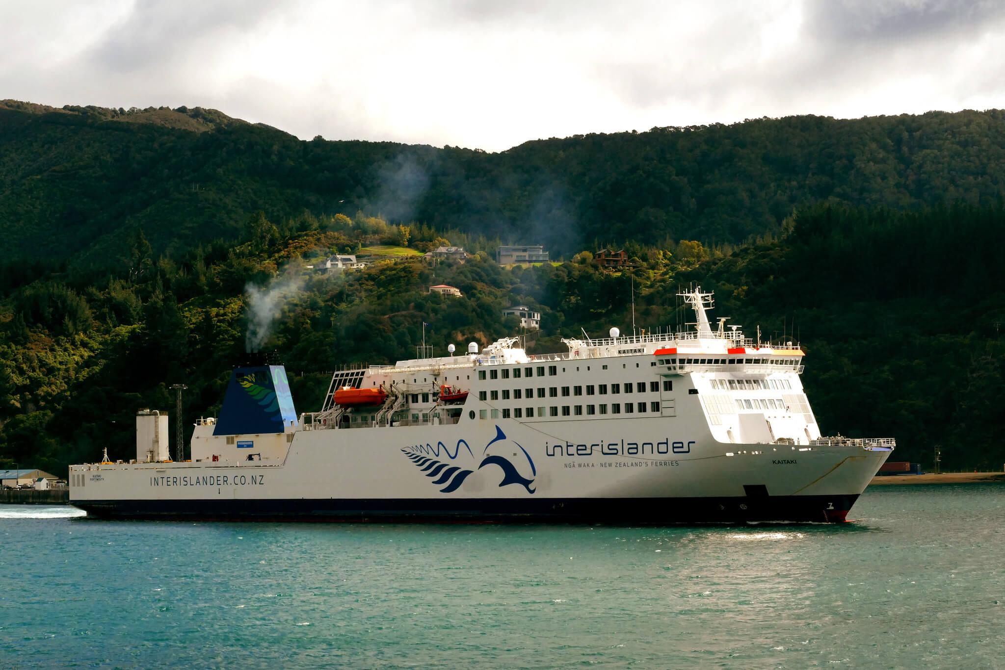 The Wellington to Picton ferry