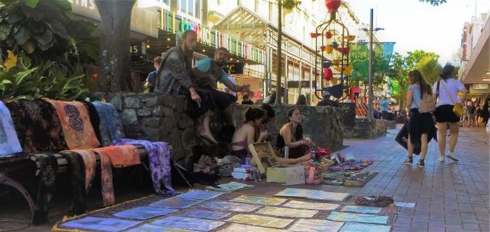 Lovable streetrats in Wellington's Cuba Street