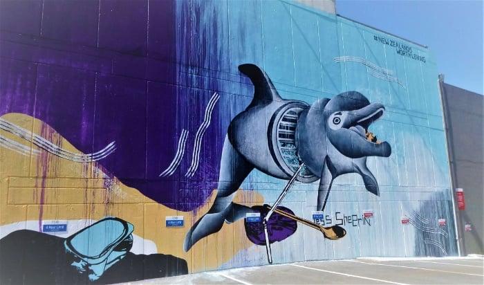 Sweet mural in the CBD