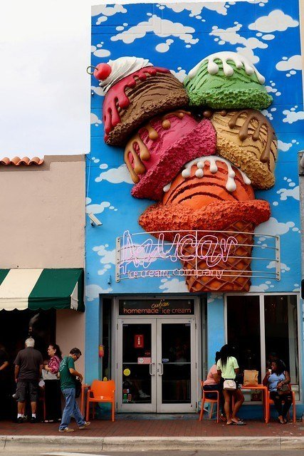 Azucar Ice Cream Company miami