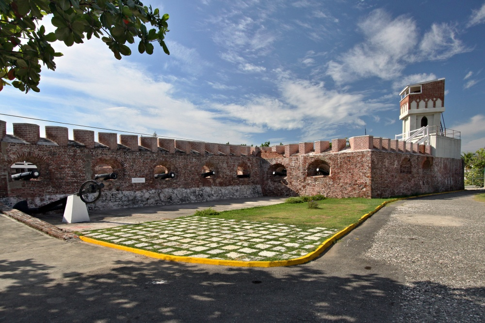Fort Charles in jamaica