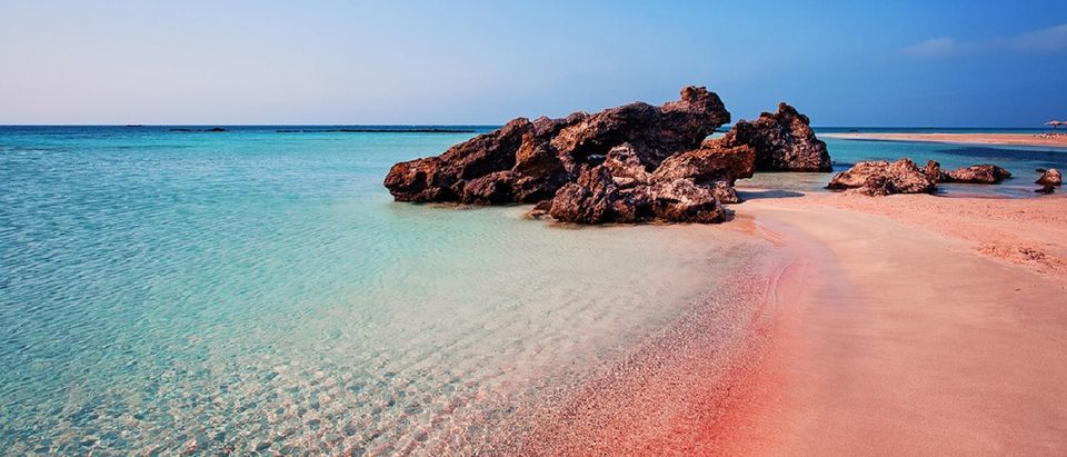 From Rethymno & Chania Elafonissi Island Day Tour by Bus