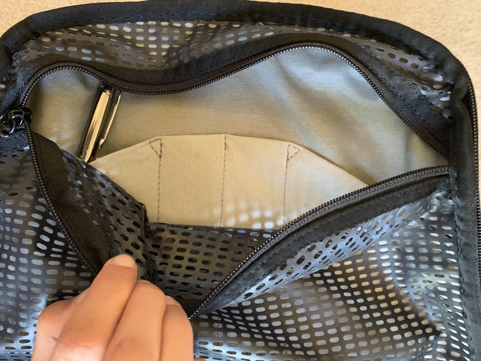 pockets on peak design travel backpack