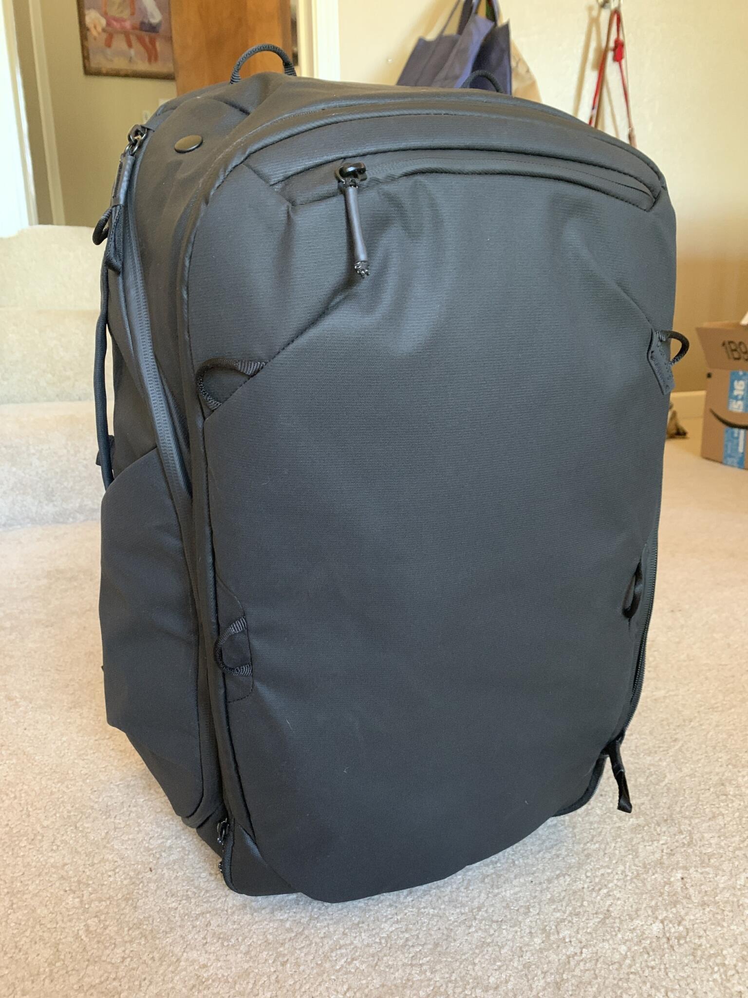 Peak Design travel backpack review