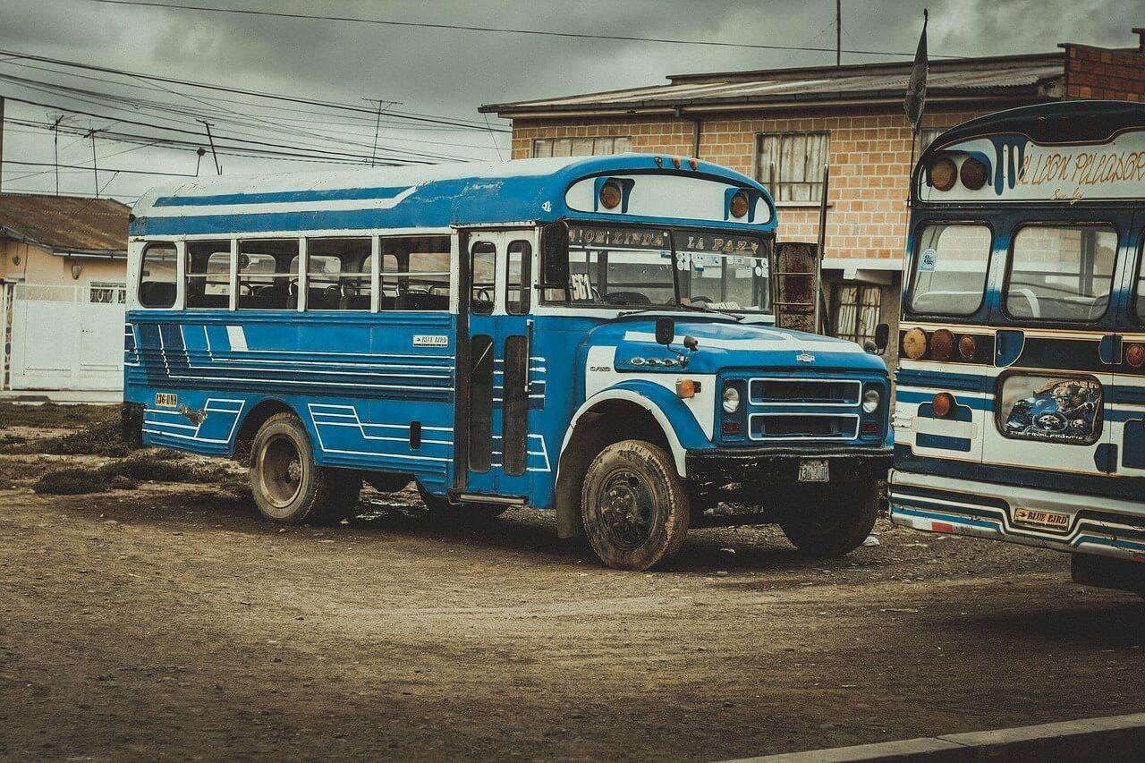 Is public transportation in Bolivia safe