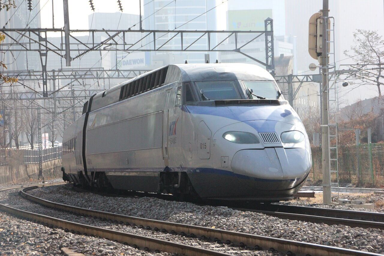 Seoul To and From Busan KTX High Speed Train