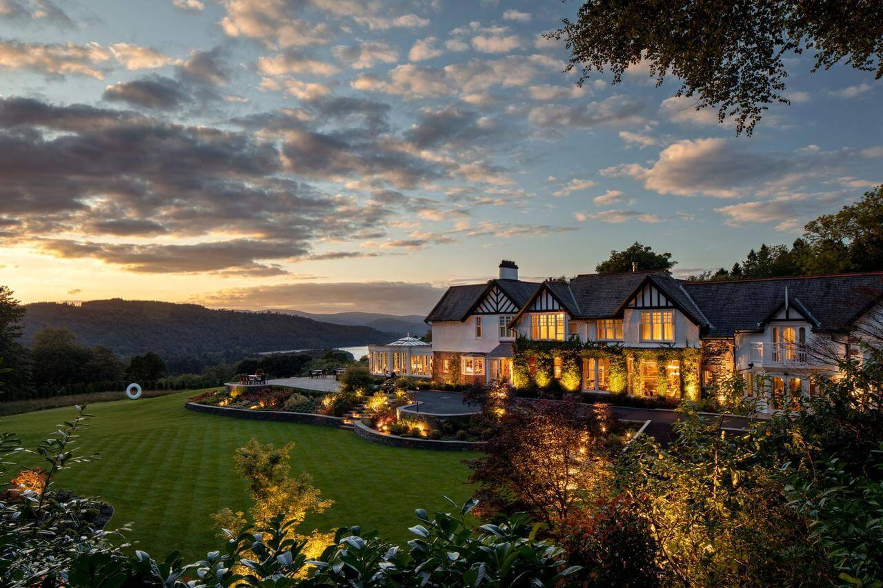 best luxury hotel in lake district