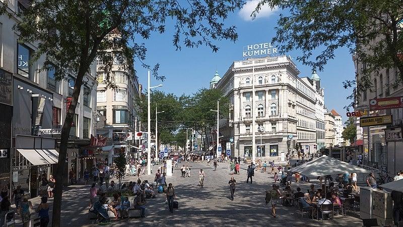Shop On Mariahilferstrasse, Vienna