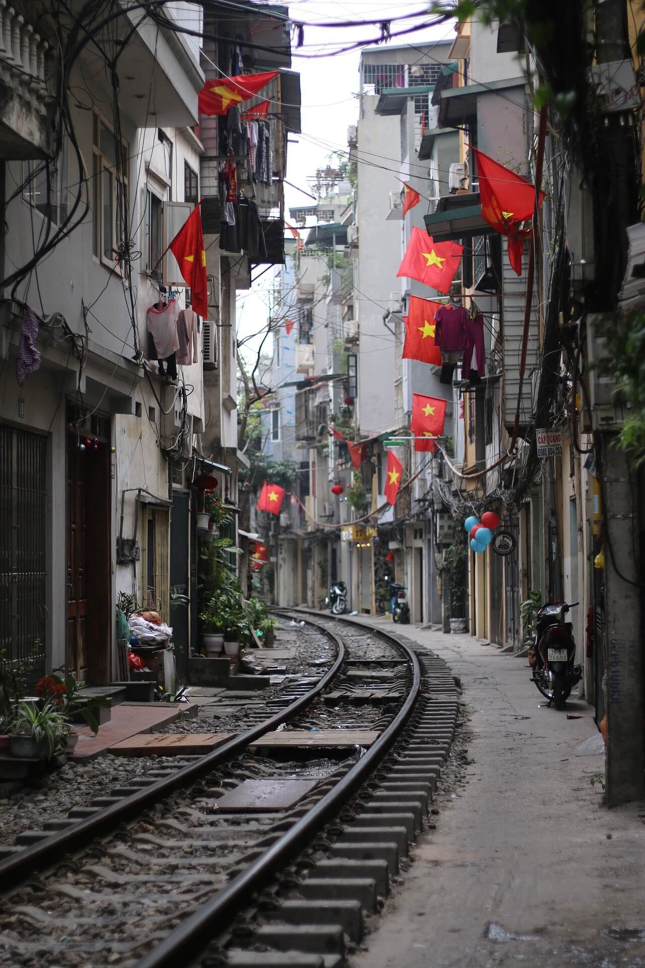 Train Street, Hanoi