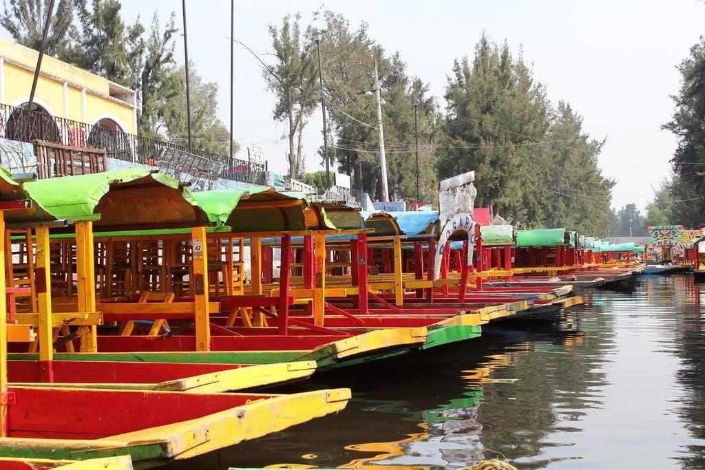 Trajinera Boat Ride Xochimilco