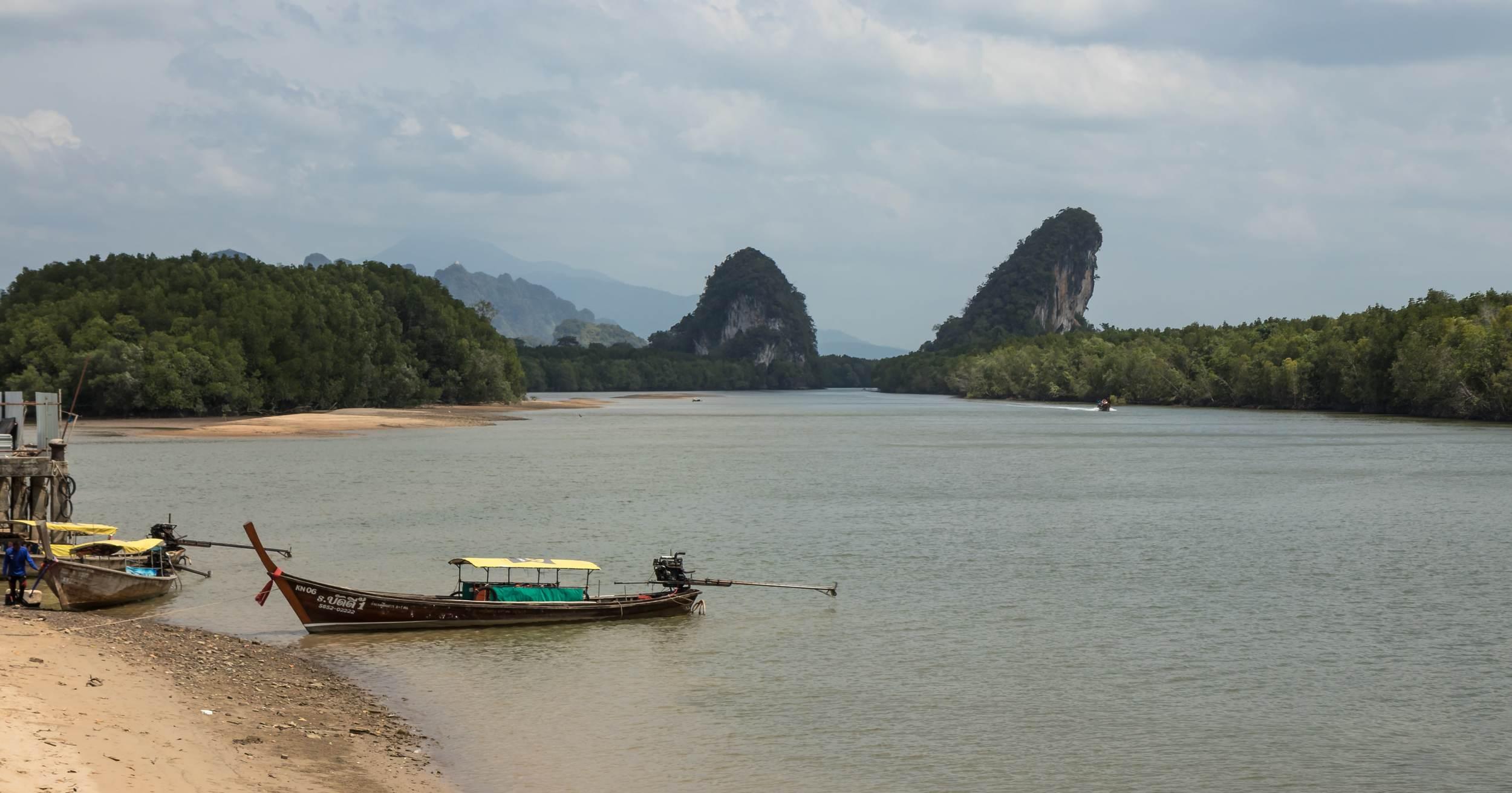 The Khao Khanab Nam Mountains