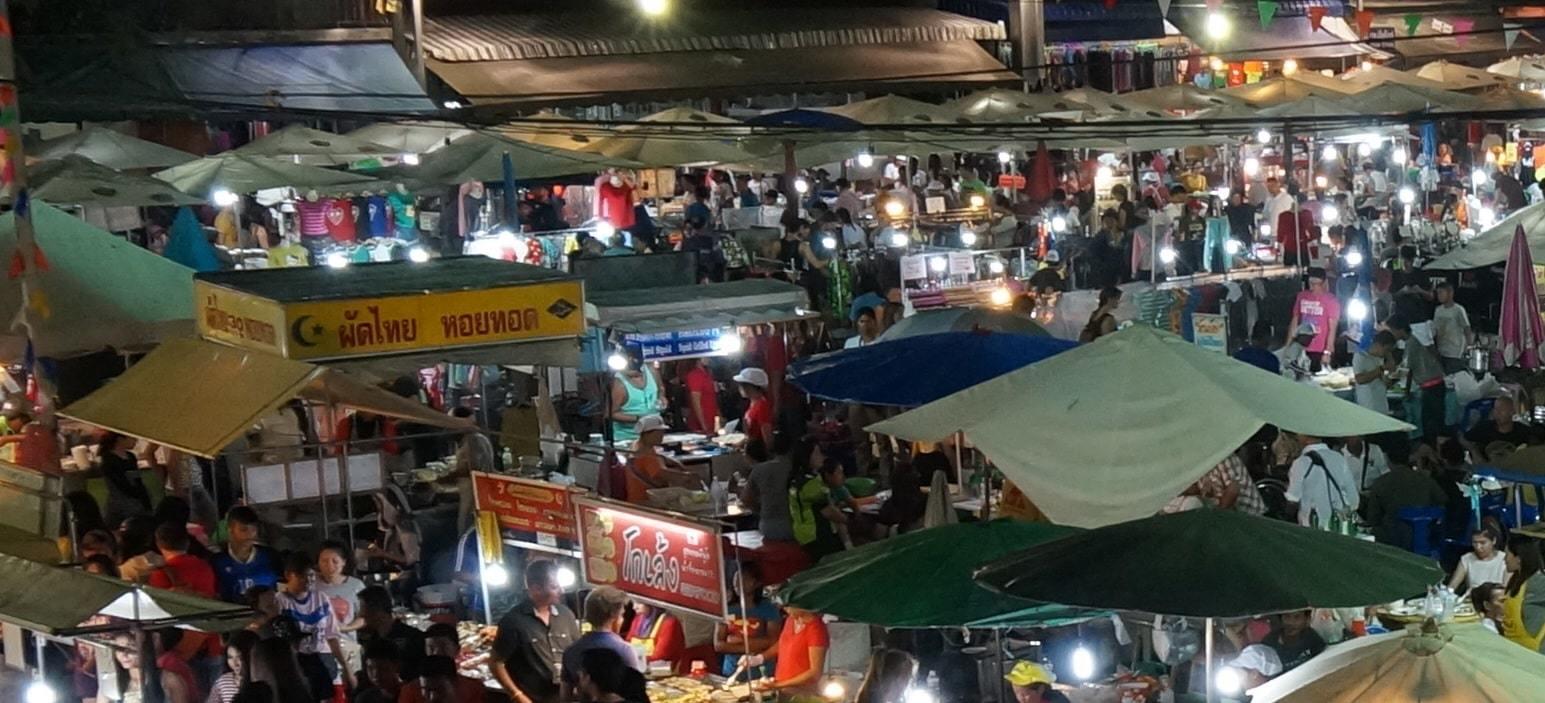 The Krabi Town Night Market