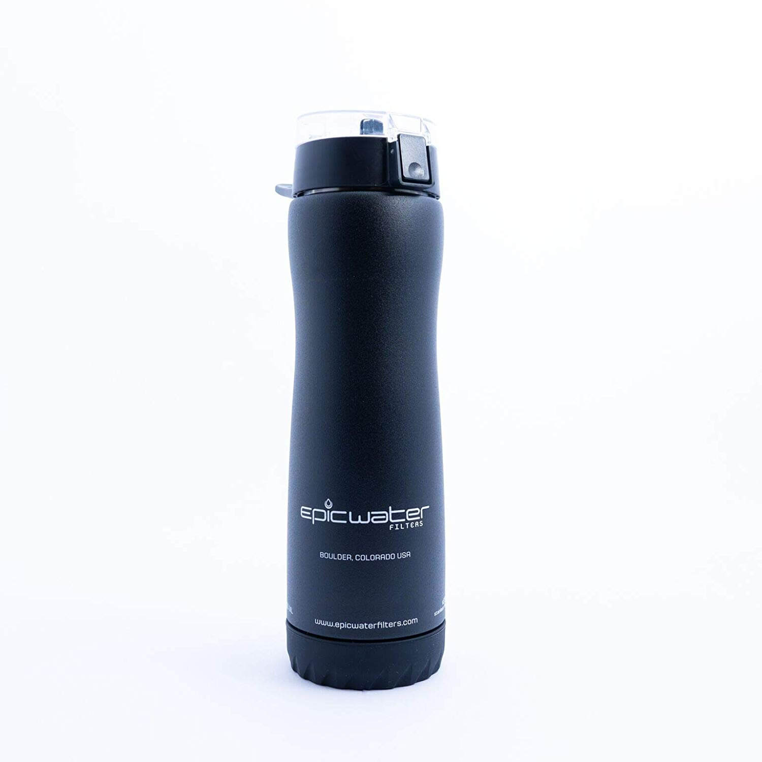 Outback Stainless Steel Water Filter Bottle - Best Stainless Steel Filtered Water Bottle