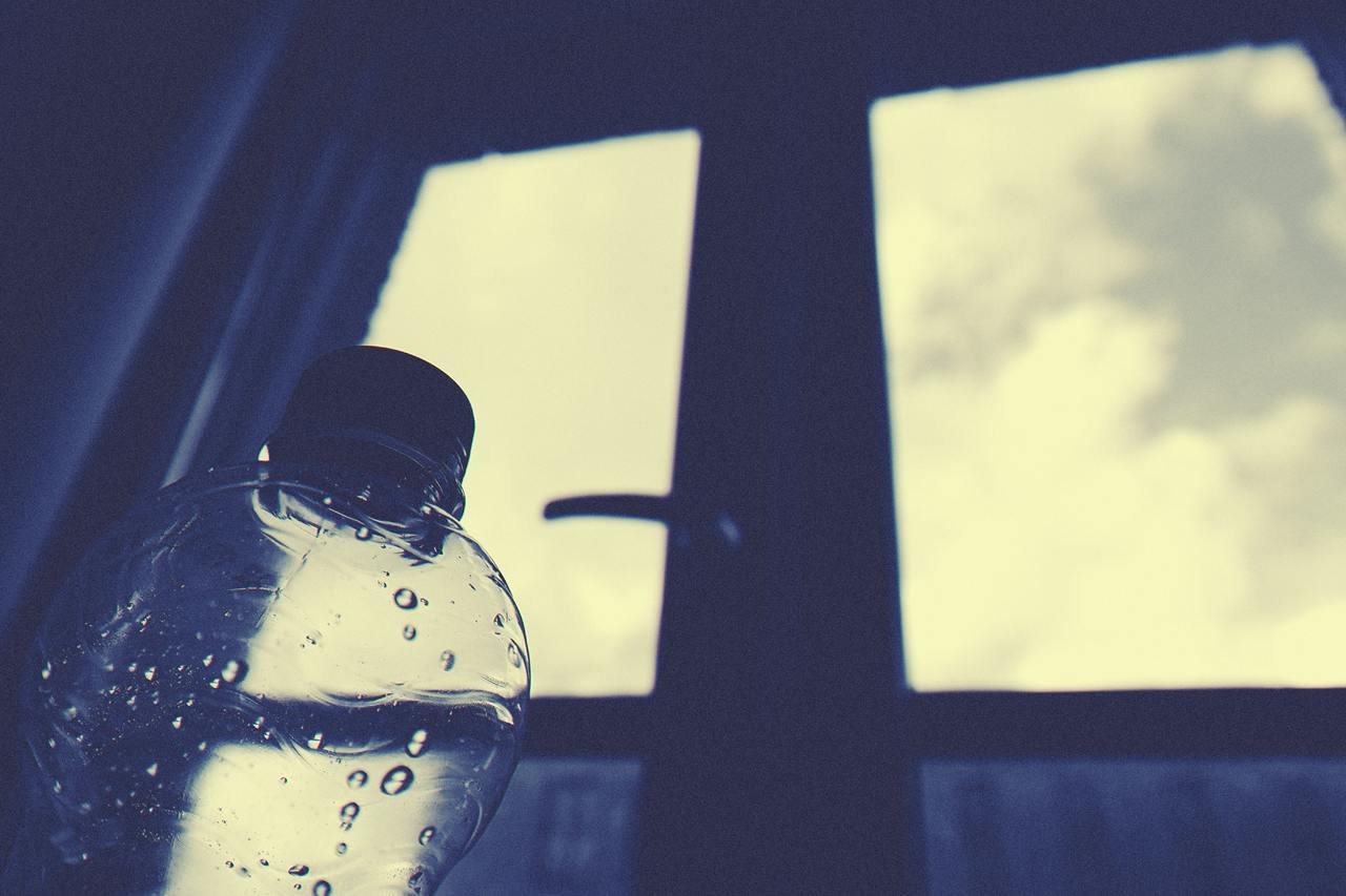 A dramatic water bottle shot to round off the list of best filtered water bottles