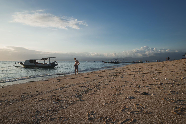 Jungut Batu beach nusa lembongan