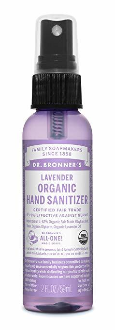 Sanitzer spray - absolutley essential travel toiletry