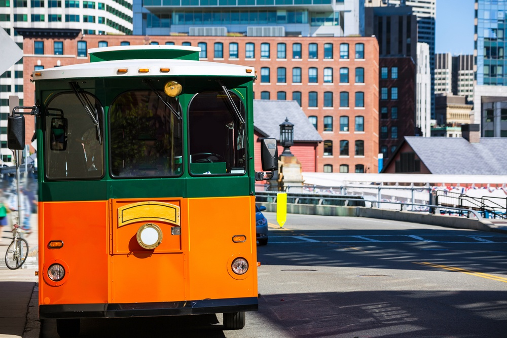 Boston Guided Trolley Tour