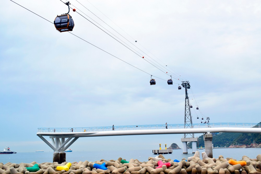 Songdo Cable Car