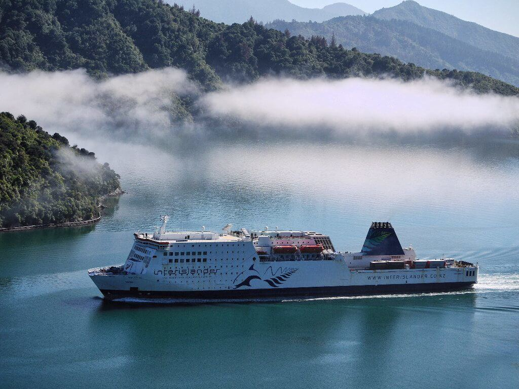 The Wellington to Picton ferry is a common beginning for many South Island itineraries