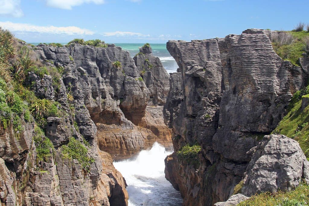 Pancake Rocks is the super famous thing to do on the West Coast