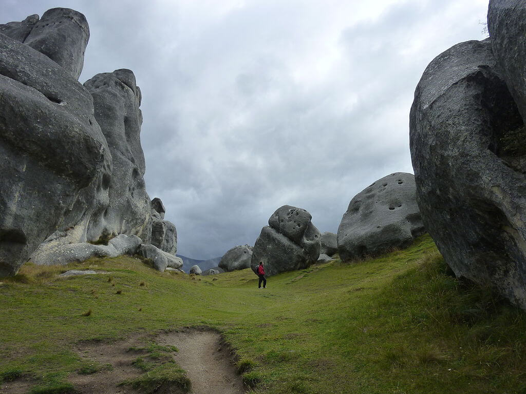 Bouldering in Castle Hill is a great adventure trip for singles