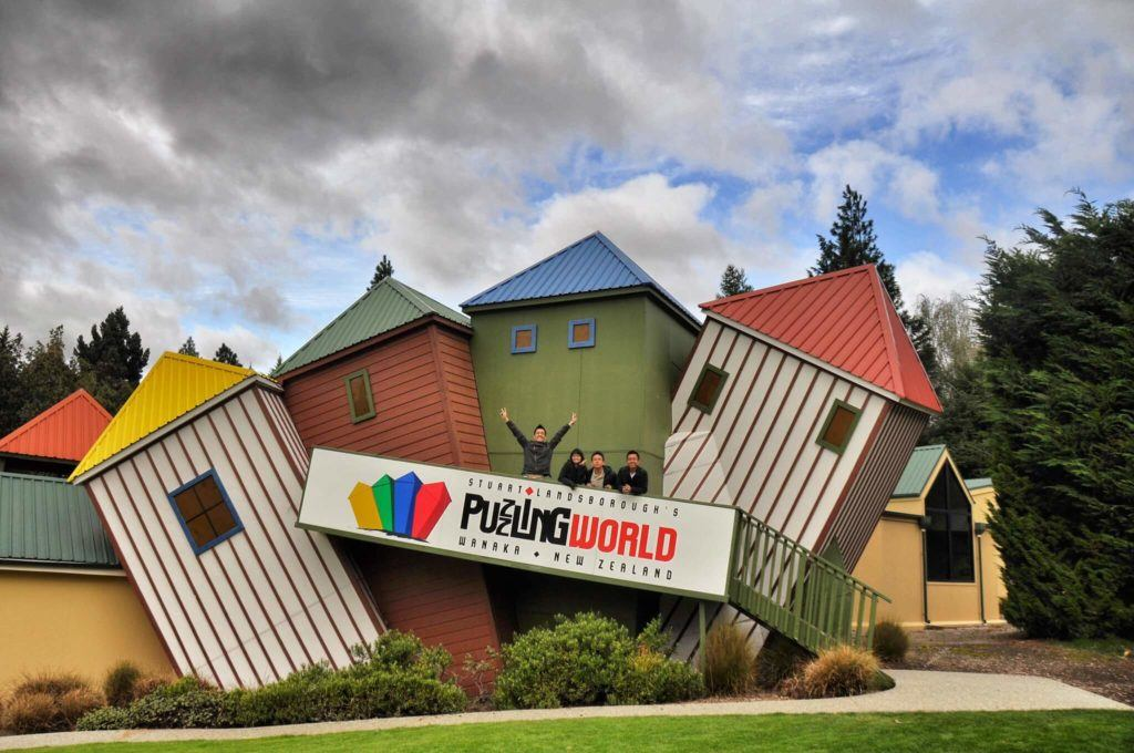 Puzzling World is a more unique thing to do in Wanaka