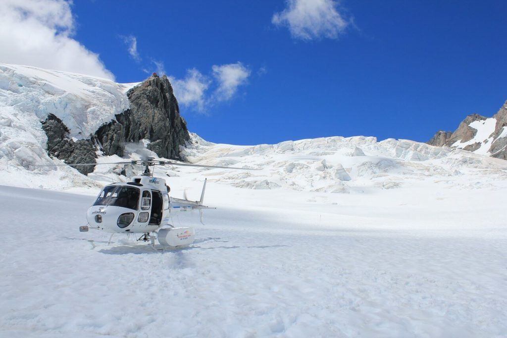 A helicopter tour is an amazing way to see Mount Cook National Park