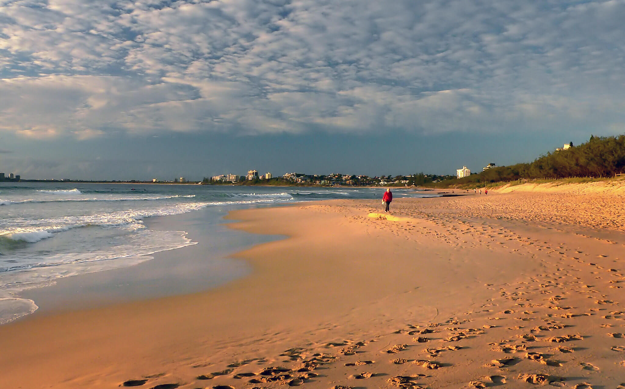 A sunshine coast beach