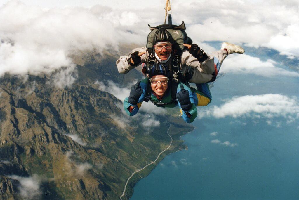 Skydiving in the Sunshine Coast is a popular activity