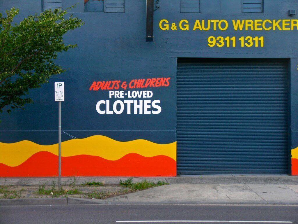 Op-shop shopping in the Sunshine Coast