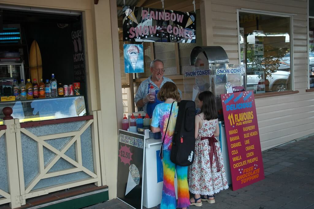 Eumundi Markets is a good place to eat in the Sunshine Coast