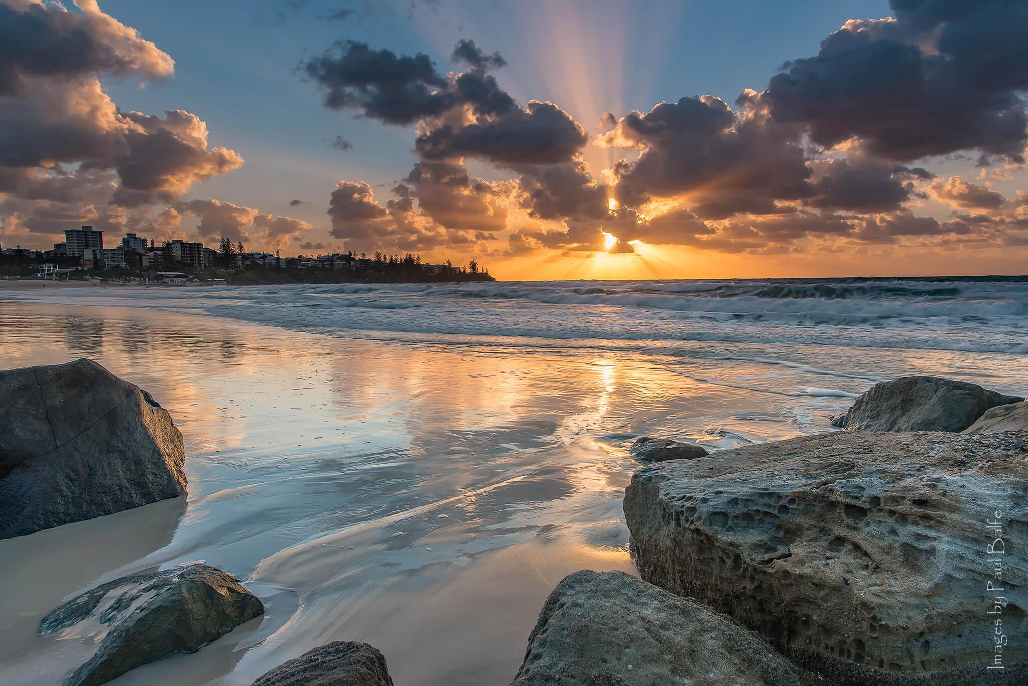 Kings Beach Caloundra on the Sunshine Coast