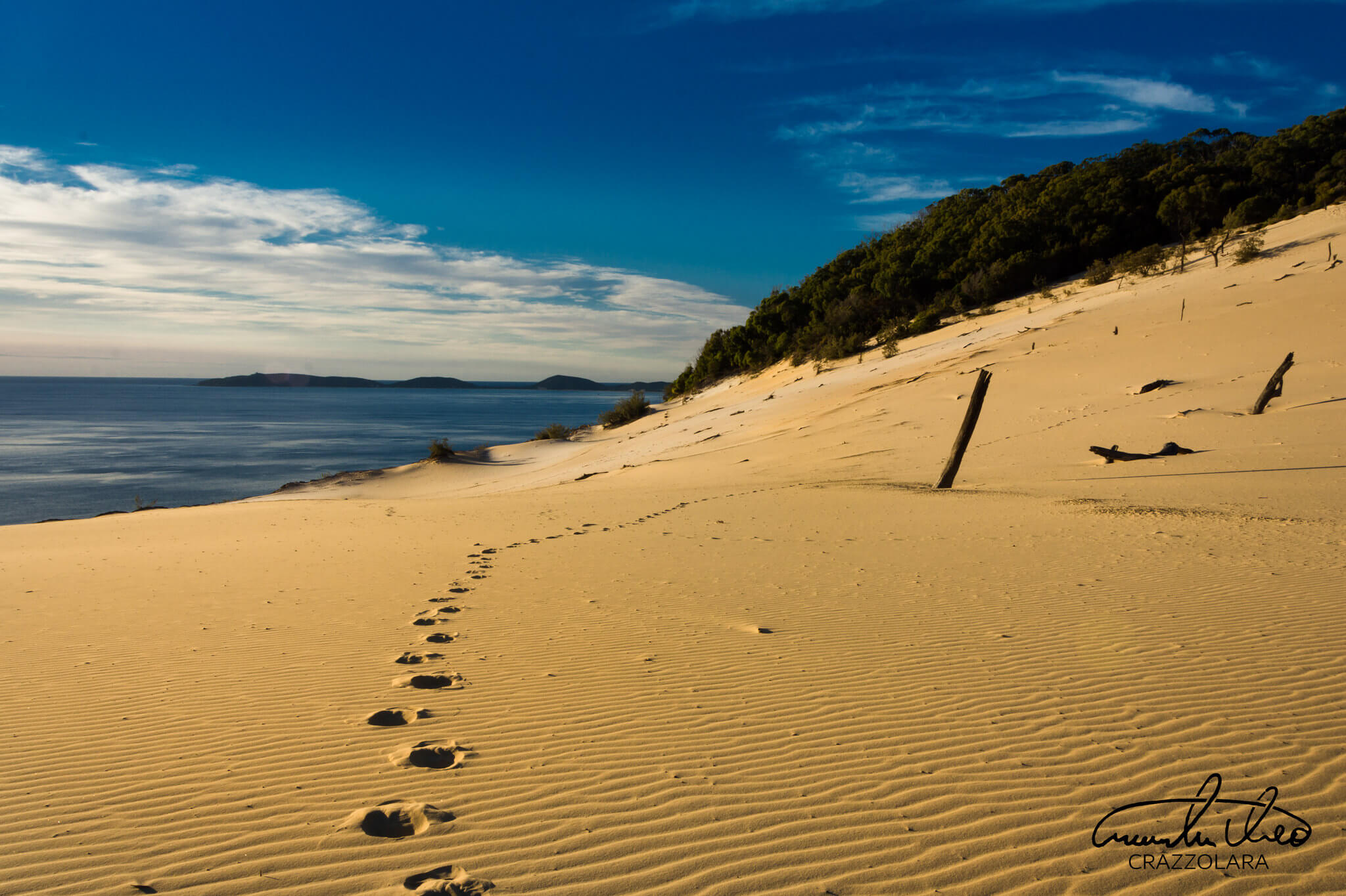 Cooloola Great Walk sand blow