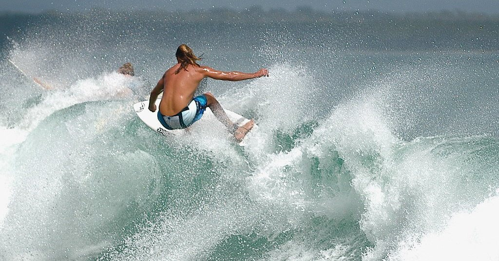 Noosa's surfing spots are internationally famous