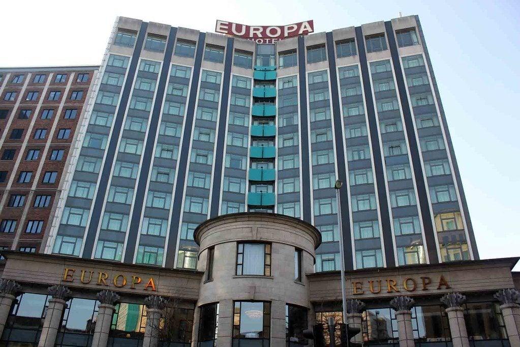 Visit the Europa Hotel, Belfast
