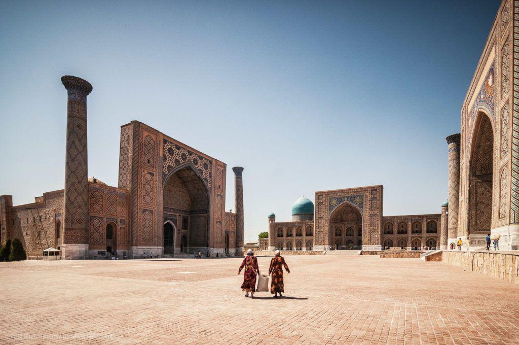 registan samarkand uzbekistan