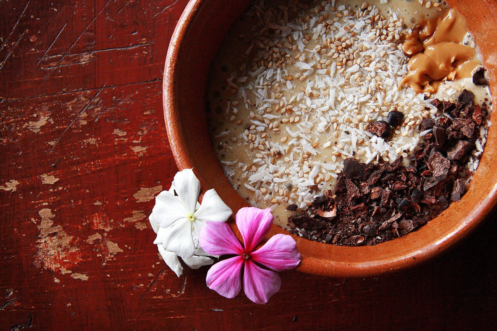 smoothie bowl bali breakfast