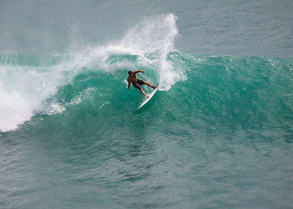 surfing at balangan uluwatu