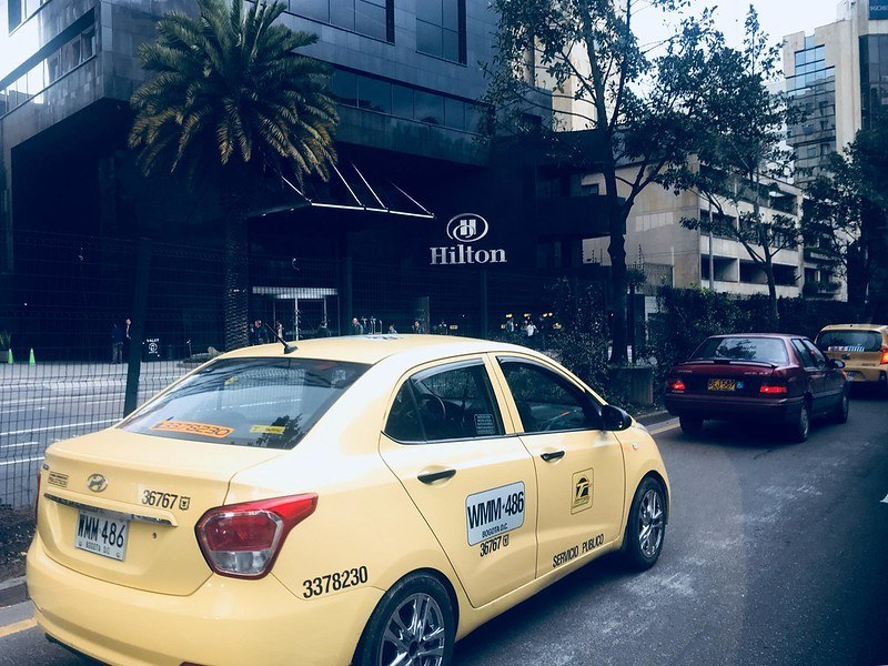 Are taxis safe in Bogota