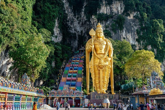 Batu Caves, Waterfalls and Hot Springs - Penang Day Trip
