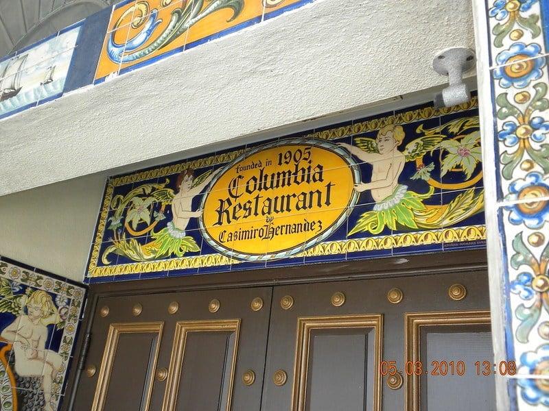 Columbia Restaurant Tampa
