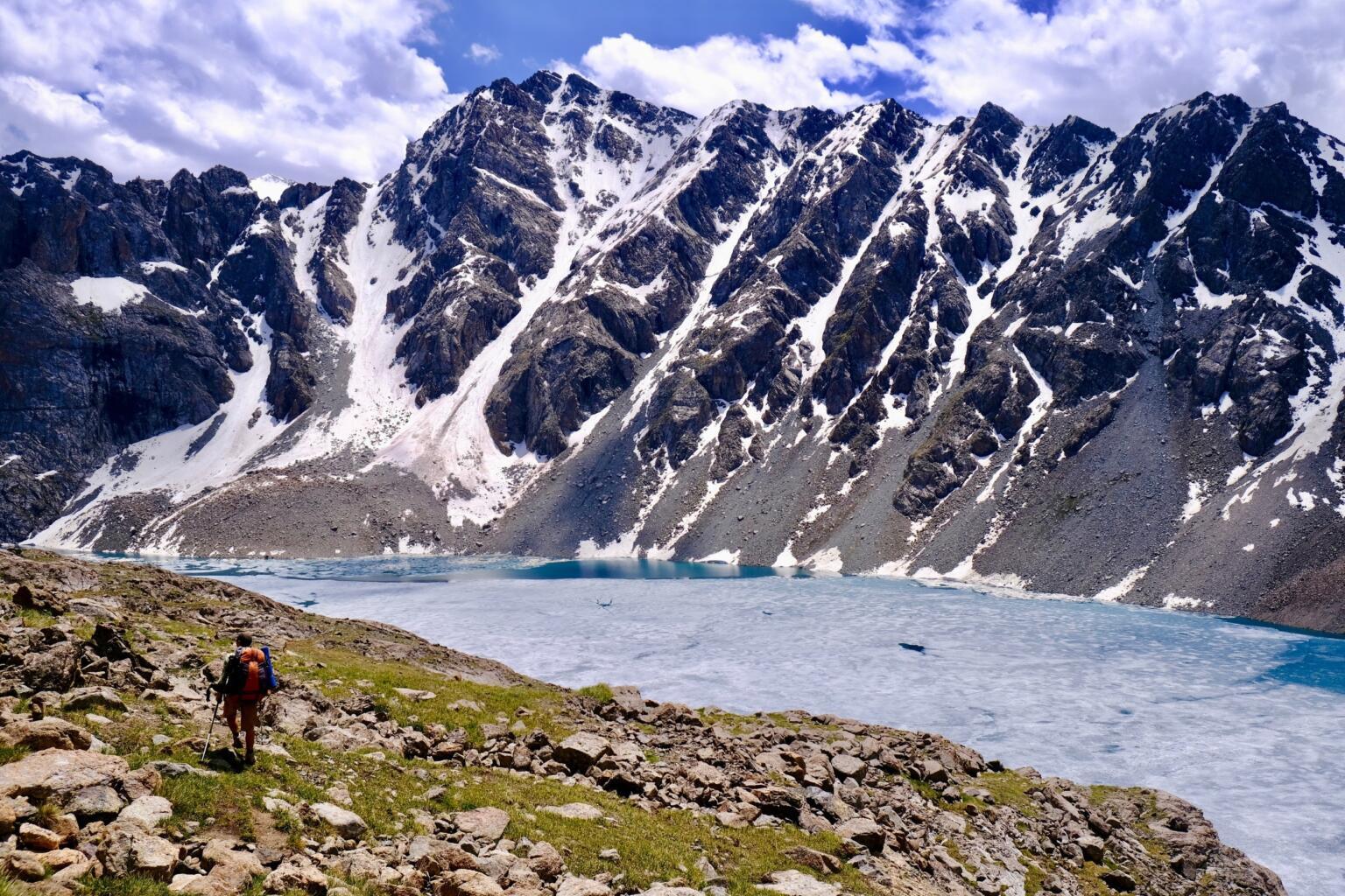 ala kul lake hike best in Kyrgyzstan