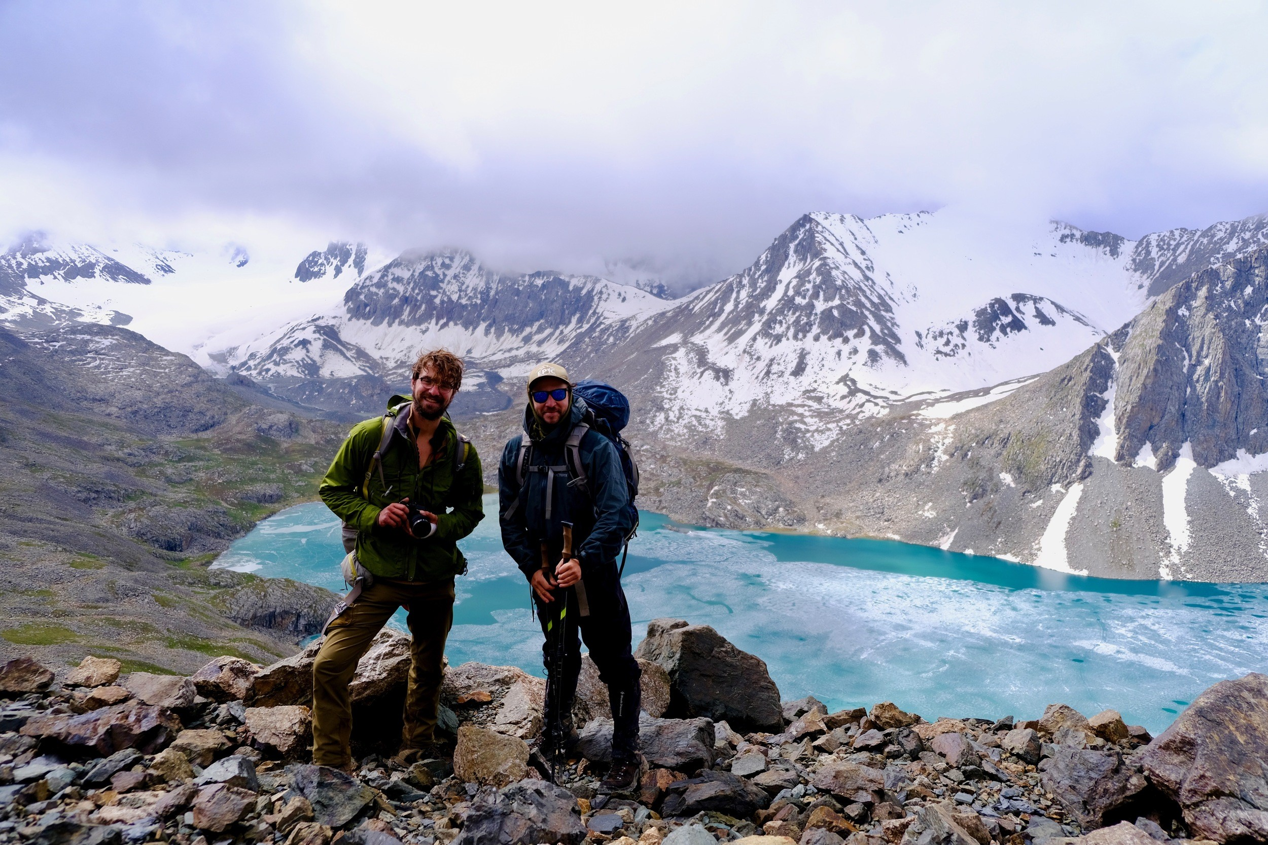 backpacking Kyrgyzstan