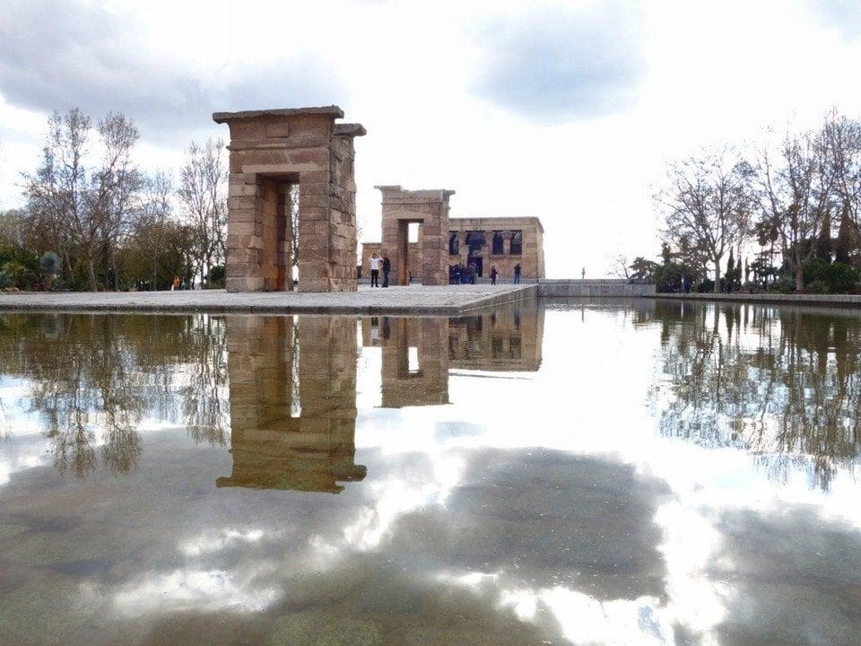 Egyptian Temple Madrid