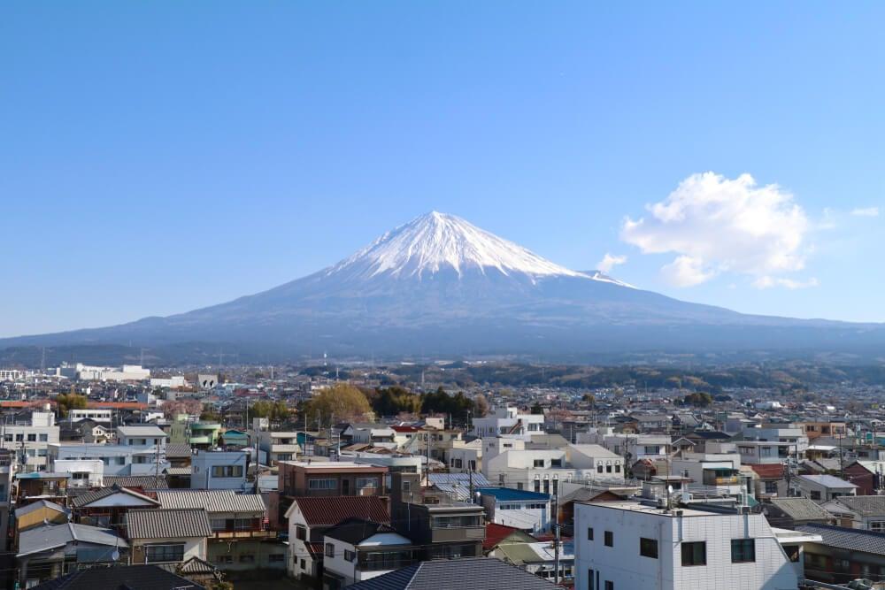 Fuji City, Mt Fuji