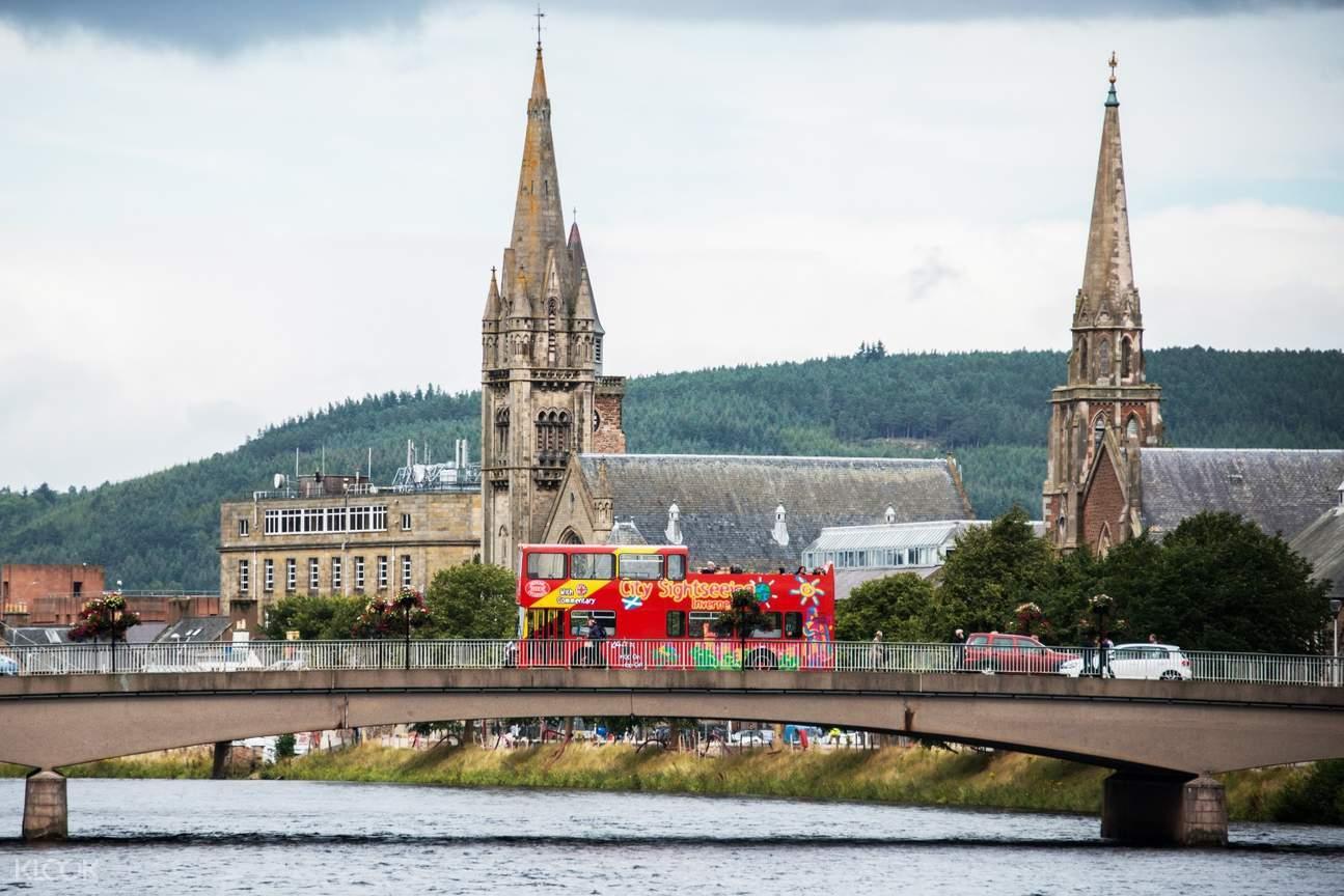 Explore around Inverness City