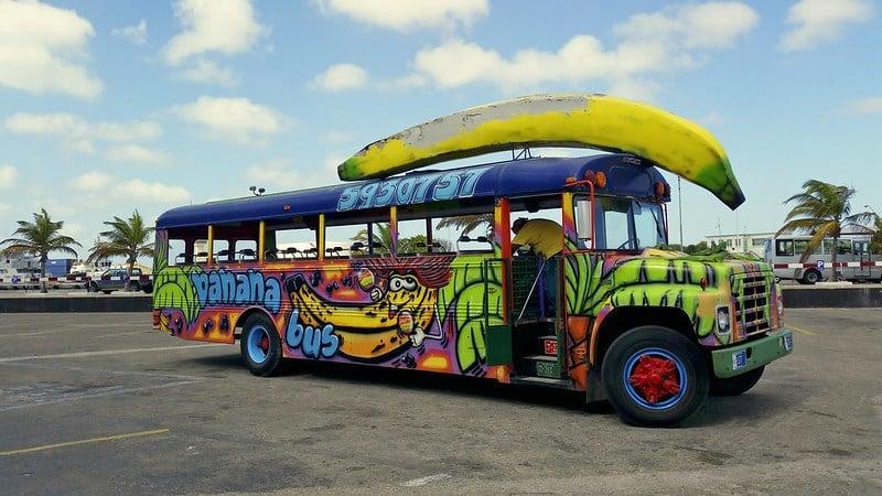Is public transportation in Aruba safe