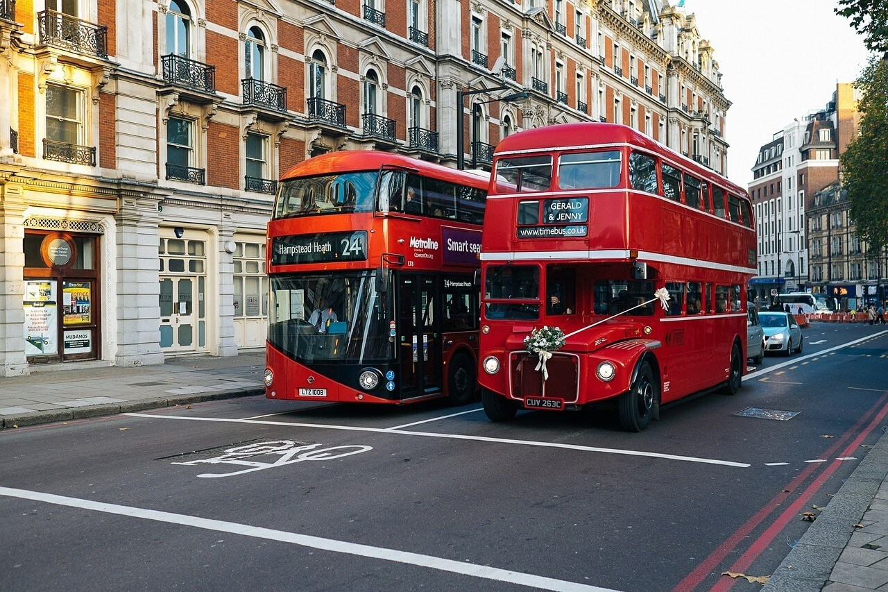 Is public transportation in London safe