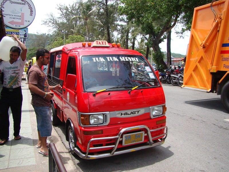 Is public transportation in Phuket safe