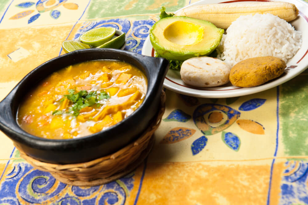 Is the food in Bogota safe